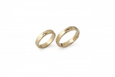 """Vestuviniai žiedai """"Blakstienos"""""""