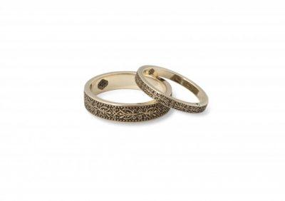 """Vestuviniai žiedai """"Ornamentum"""""""