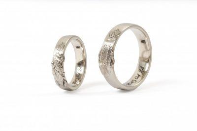 """Vestuviniai žiedai """"GZ"""""""