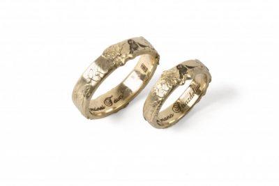 """Vestuviniai žiedai """"Pelėdėlis Strazdelis"""""""