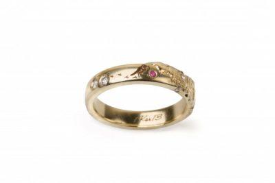 sužadėtuvių žiedas Paukštukai