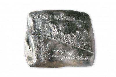 """Medalis """"Žemaičių lopšinės"""""""