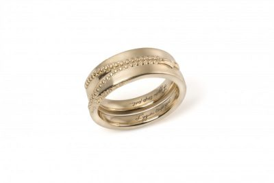 """Vestuviniai žiedai """"Užtrauktukai"""