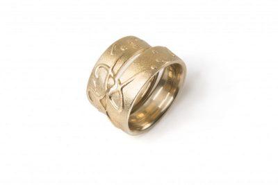 Vestuviniai žiedai KJ